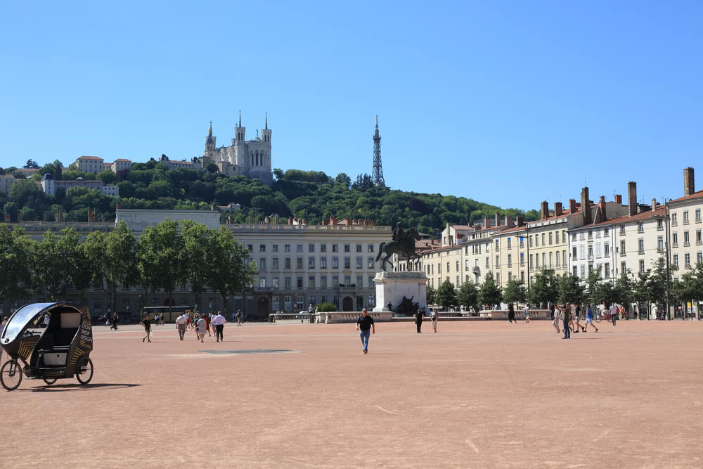 Lyon - Place Bellecourt