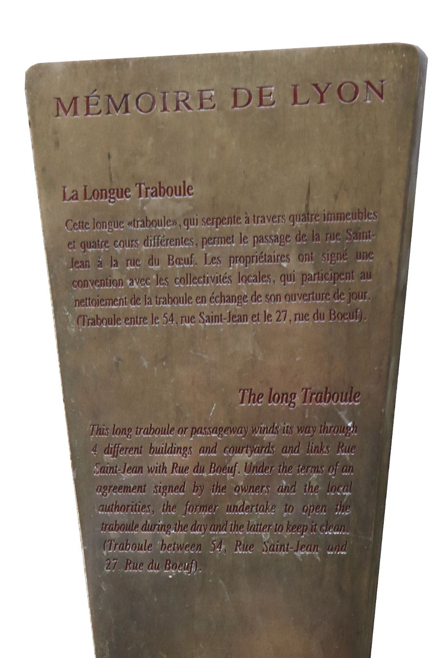 Lyon - History of the Traboules