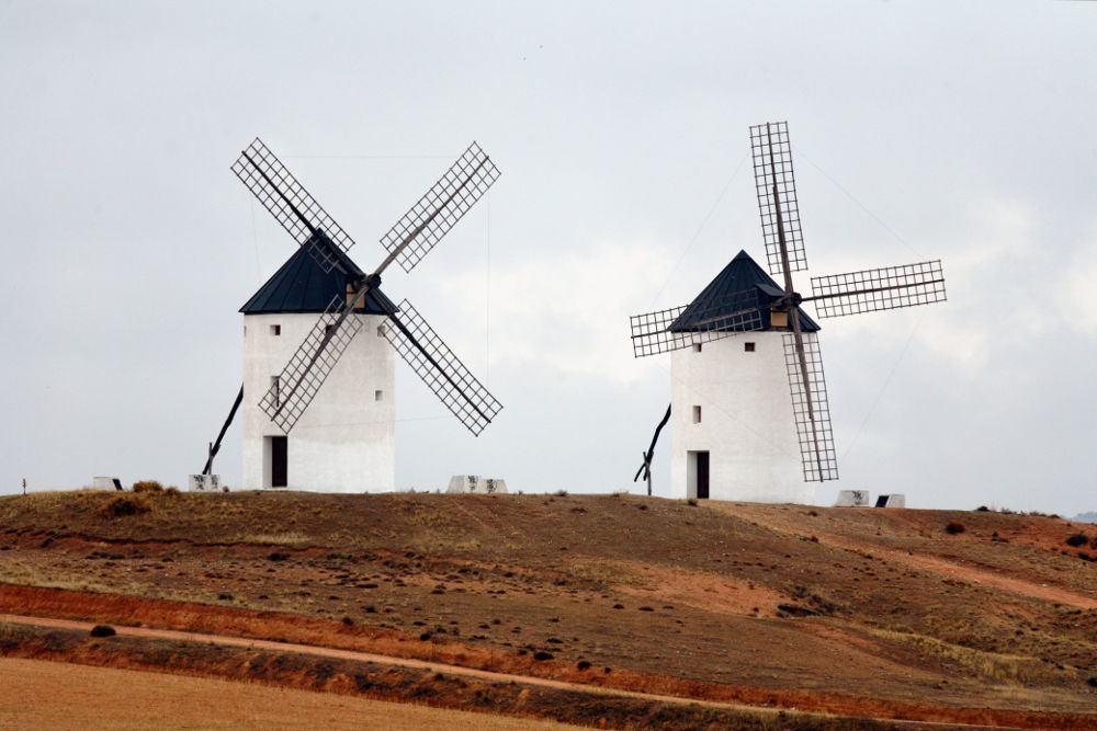 Windmühlen Spaniens in Tembleque